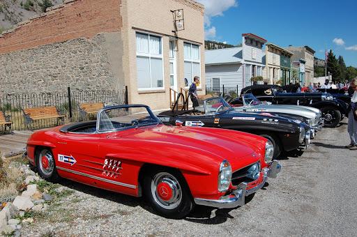 Front: 1961 Mercedes Benz