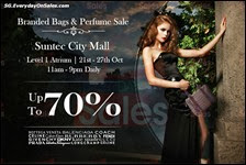 Luxury City Branded Handbags Sale October Singapore Suntec City Deals Offer Shopping EverydayOnSales