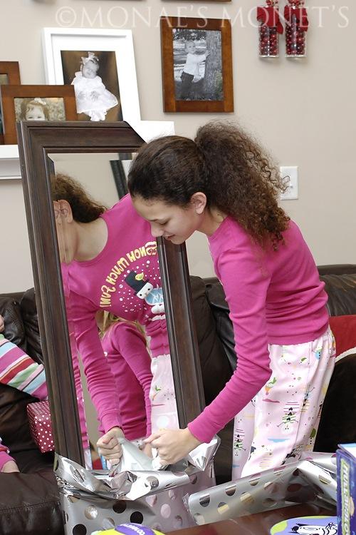 Brianna with mirror blog