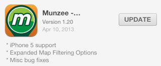 Munzee ver 1.20 for iOS