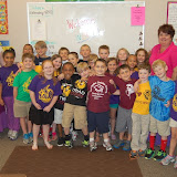 WBFJ Cici's Pizza Pledge-Triad Baptist Christian Academy-Miss Melton's 2nd Grade Class-4-24-13