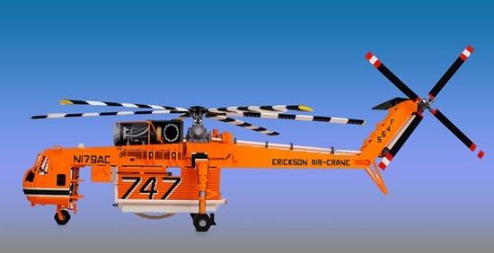 Helicóptero de Legos 07