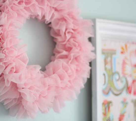 Ruffle Wreath - Cluck Cluck Sew