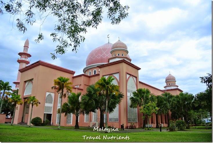 馬來西亞沙巴大學 粉紅清真寺 (9)