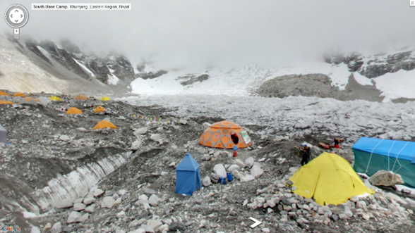 Mount-Everest-Basecamp-on-Google-Maps