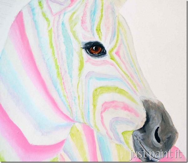 Zebra-Painting-C