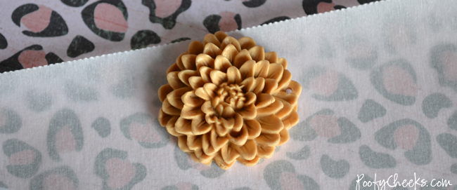 Clay Cabochon Flower Charm Tutorial