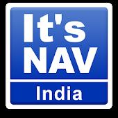 APK App It's NAV India:GPS Navigation for BB, BlackBerry