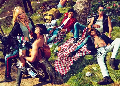 Mert & Marcus for DSquared2 S/S 2012 campaign.