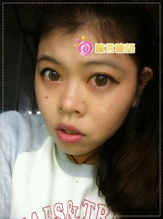 韓國GEO隱形眼鏡-GEO Berry Holic 混血三色灰20