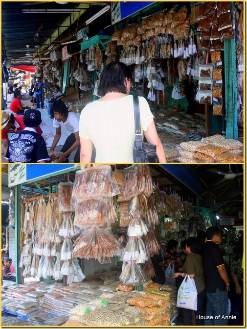 Buying dried fish in Kota Kinabalu