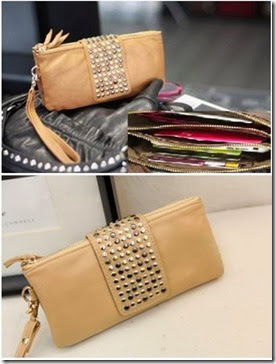 ID 1077 Khaki (156.000) - PU Leather, 20 x 11