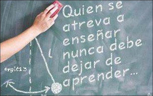 aprender para ensinar