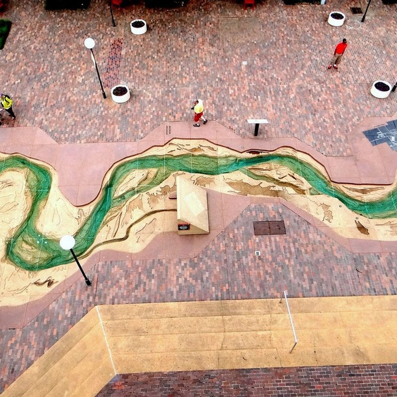 Scale Model of the Mississippi River on Mud Island