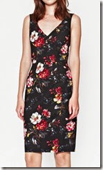 Floral print stretch Dress