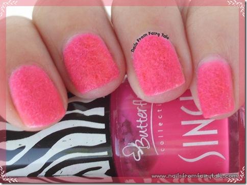pink flocking powder