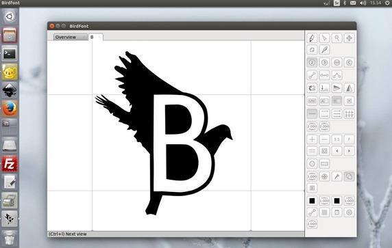 birdfont-editor