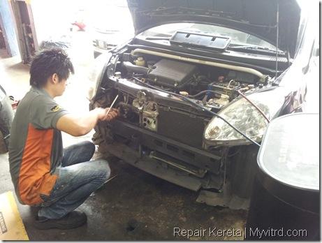 Repair aircond myvi 5