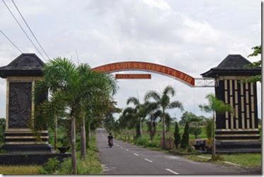 gerbang desa ponggok