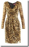 Project D Leopard Print Dress