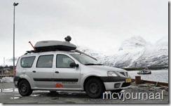 Arctic Roadtrip Erik met Dacia Logan MCV 15
