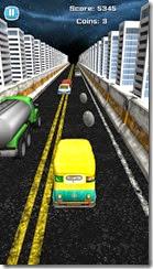 حاول تفادى السيارات الموجودة فى الطريق لتحقيق أعلى درجة