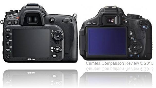 Nikon D7100 vs Canon T3i