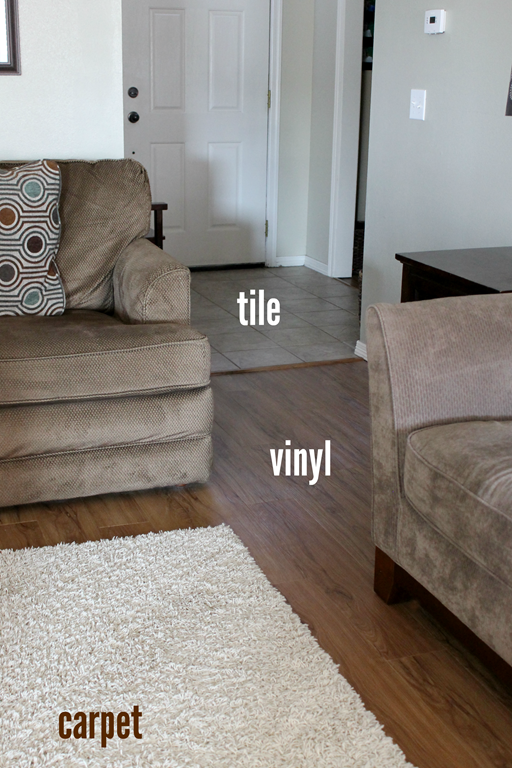 #eurekapower tile vinyl carpet