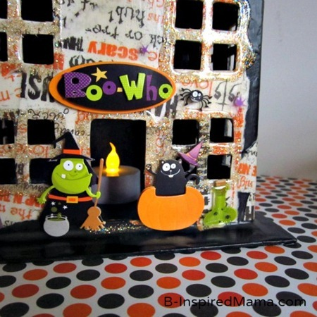 Mod Podge Haunted House 9
