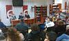 28 лютого у книгарні «Є» (просп. Свободи, 7) відбулося щомісячне обговорення літературних новинок