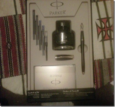 paker pen set