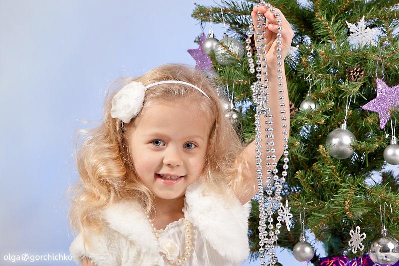 Морозное Рождество. Новогодние мини-фотосессиию. Детский фотограф Ольга Горчичко