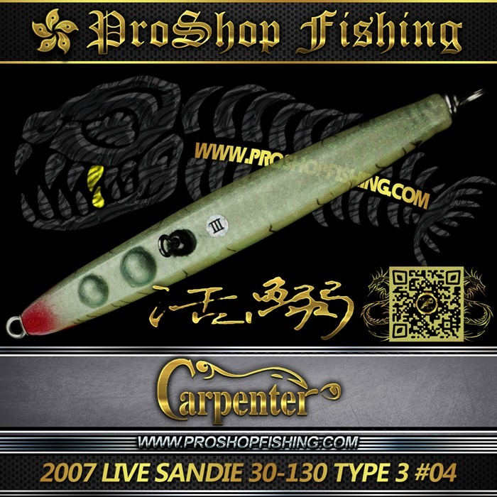 carpenter 2007 LIVE SANDIE 30-130 TYPE 3 #04.4
