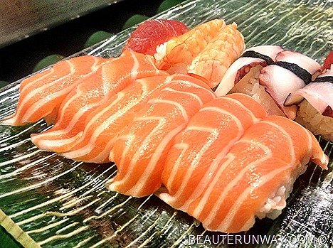 CHISO ZANMAI SALMON SUSHI PRAWNS OCTOPUS SASHIMI JAPANESE BUFFET OPENS AT THE CENTRAL, CLARKE QUAY SINGAPORE