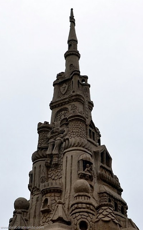 castelo de areia maior do mundo guinnes world book desbaratinando (13)