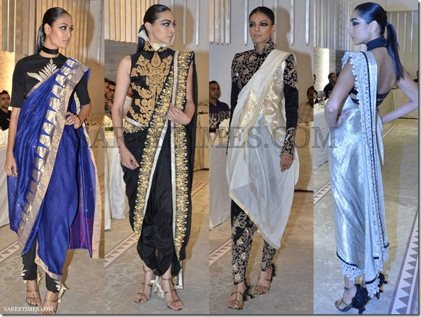 anamika khanna collection delhi couture week 2012 sareetimes