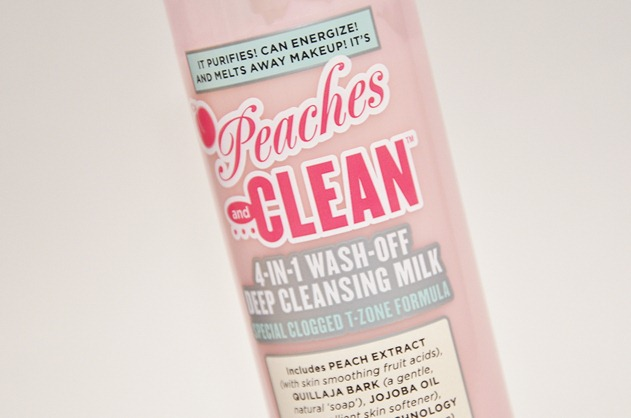 Soap & Glory Peaches and Clean cleanser beauty sincare 2