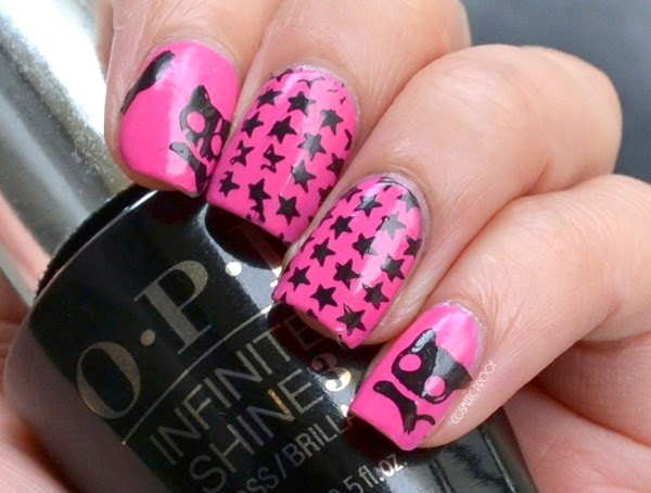 OPI Stars and Cats Stamping with Born Pretty Plate 03 Review