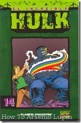 P00014 - Coleccionable Hulk #14 (de 50)