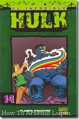 P00014 - Coleccionable Hulk #14 (de 50)