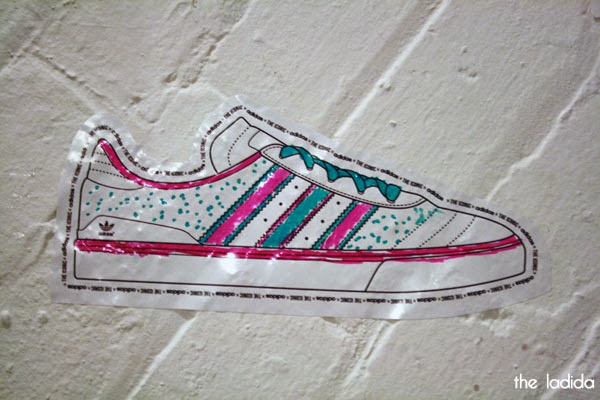 The Iconic x Adidas - Launch in Sydney - Colour in Sneaker Wall (1)