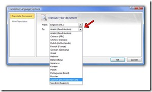 Easily Translating Content Using Office 2010 and Office 365 2