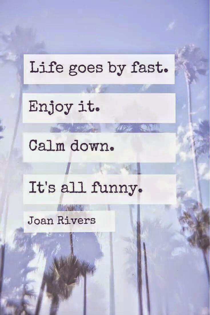calm down fast
