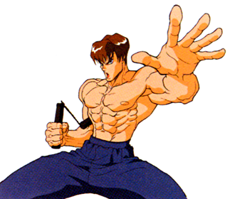 Street Fighter character Fei Long based on Bruce Lee