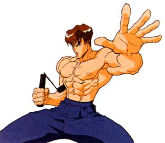 Street Fighter character Fei Long based on Bruce Lee