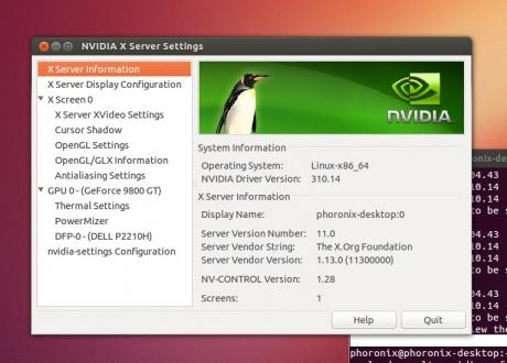 Nvidia R310 (310.14) su Ubuntu