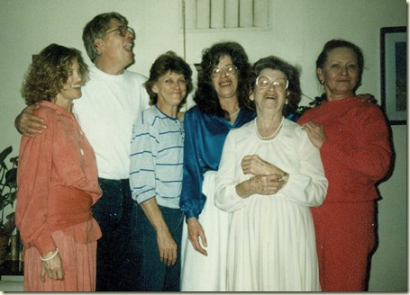 Mom and her children 001