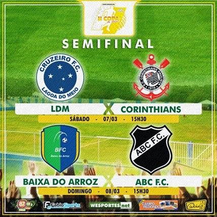 SEMIFINAL I - Copa do Povo 2014-2015 - CAMPO REDONDO - 28 E 01 - WESPORTES - FABIOSPORTS - FMVALEDASSERRAS - PORTAL
