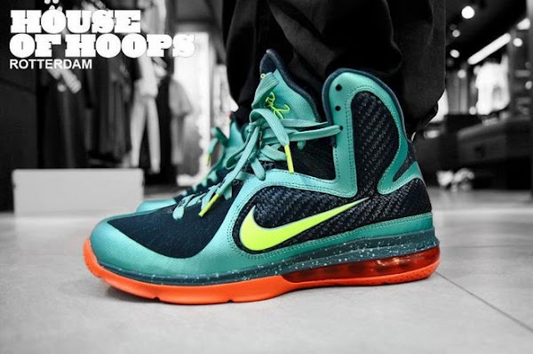 Releasing Now Limited Edition Nike LeBron 9 8220Cannon8221  8220PreHeat8221