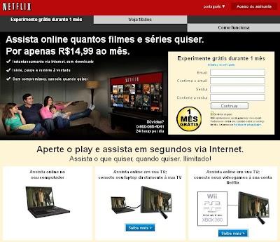 Site Netflix, Assistir Filmes Online na TV, Computador